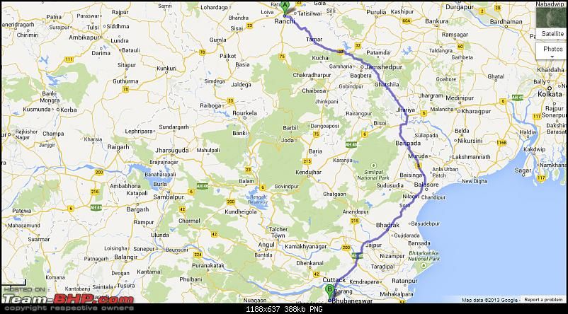 Ranchi to Bhubaneswar : Route Queries-2.png
