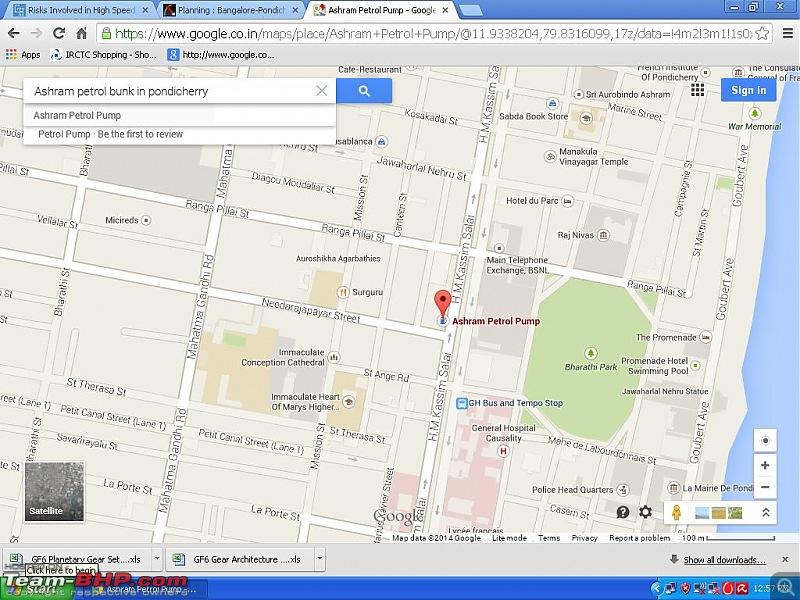 Bangalore - Pondicherry : Route Queries-ashram-bunk.jpg