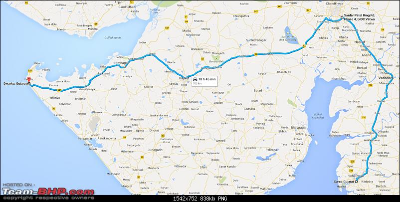 Dwarka and Somnath : Route Queries-map.png