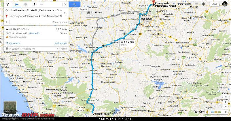 Bangalore - Mysore - Ooty : Route Queries-ooty-bangalore-day-4-20092014.jpg