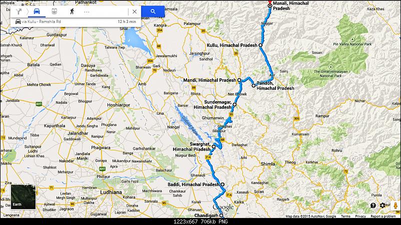 Delhi - Kullu - Manali - Delhi : Route Queries-untitled.png
