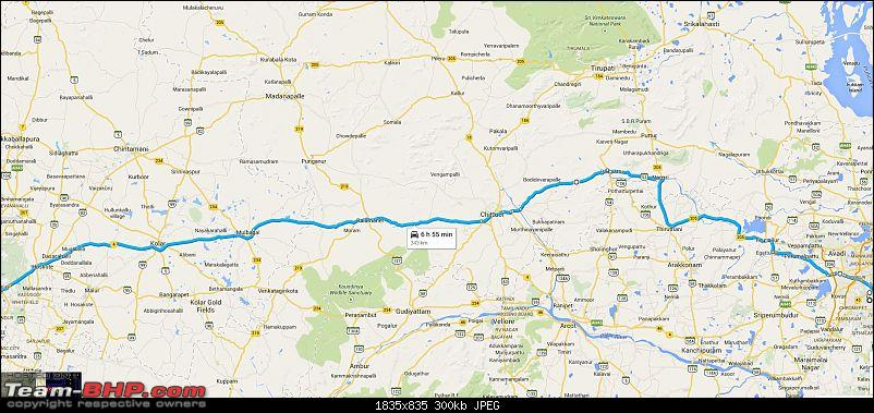pune to tirupati via bangalore by road route
