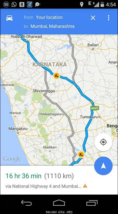 Bangalore - Pune - Mumbai : Route updates & Eateries-1432295604320.jpg
