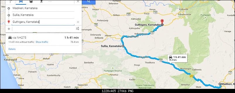 Bangalore - Kukke Subramanya : Route Queries-road2.png