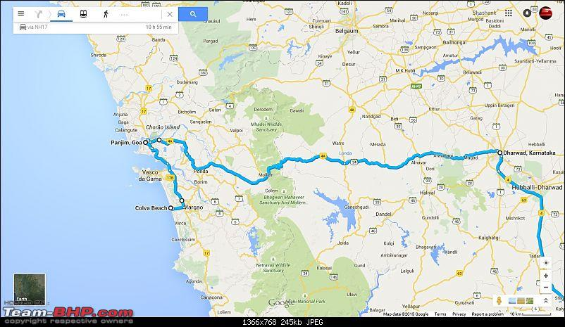 Bangalore - Goa : Route Queries-gmap2.jpg