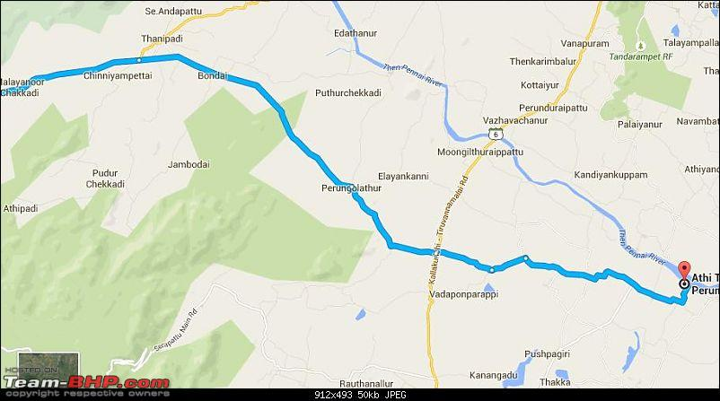 Bangalore - Thiruvannamalai : Route Queries-route-2.jpg
