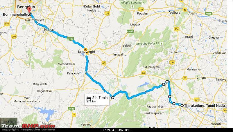 Bangalore - Thiruvannamalai : Route Queries-route-3.jpg
