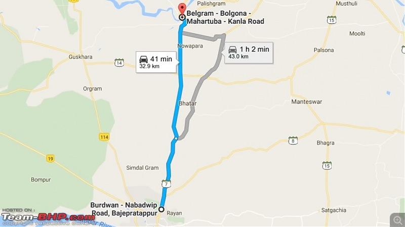 Kolkata - Siliguri route via Dumka, Bhagalpur or NH-12 (old NH-34)-burdwan-sh7.jpg