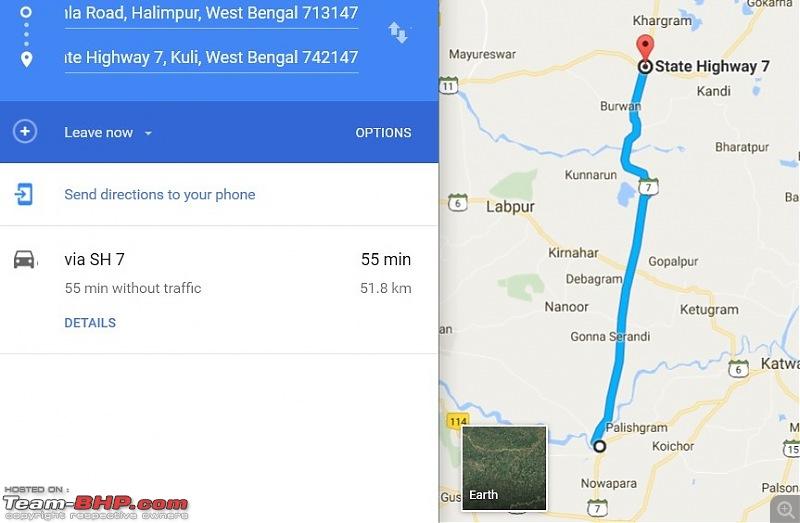 Kolkata - Siliguri route via Dumka, Bhagalpur. Avoiding NH34-sh7-till-mudda.jpg