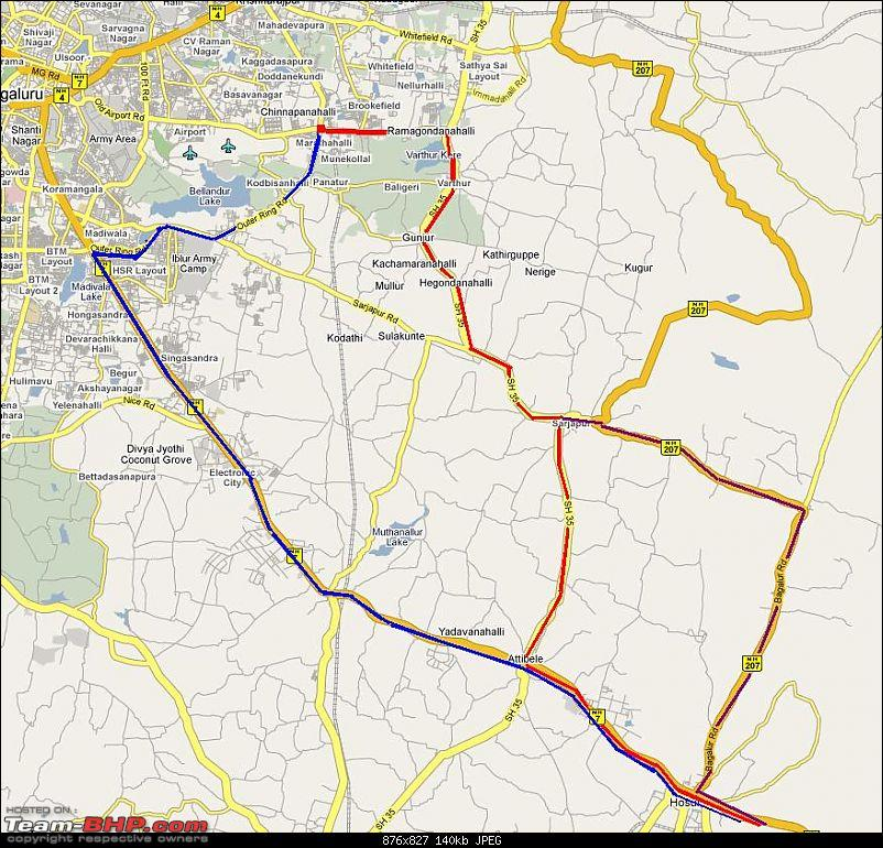 Route Info? Bangalore: Whitefield - Hosur Road-route.jpg