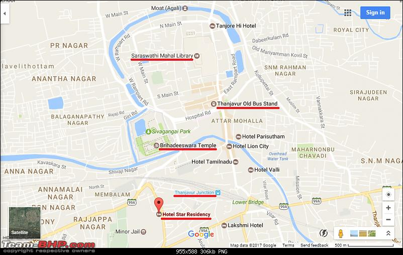 Bangalore to Kumbakonam : Route Queries-map.png
