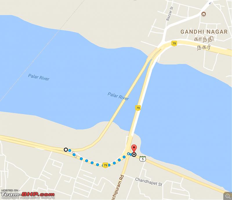 Bangalore - Pondicherry : Route Queries-arcotbridge.png