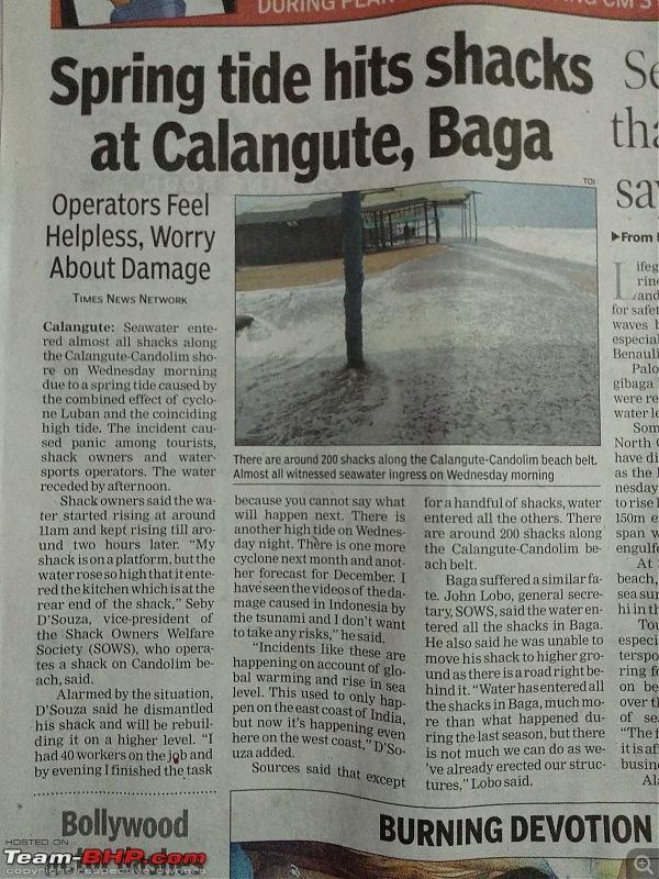 Mumbai - Pune - Kolhapur - Goa : Route Queries-shacks-calangute.jpg