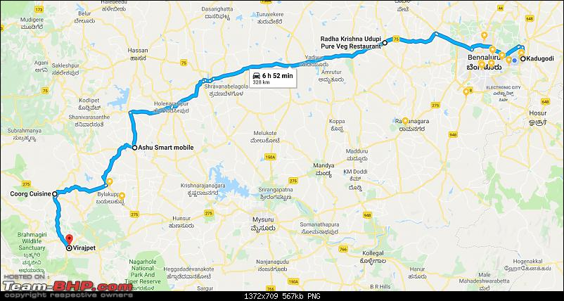 Bangalore - Coorg : Route Queries-bangalorecoorg.png
