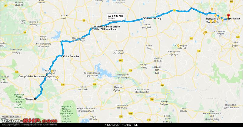 Bangalore - Coorg : Route Queries-coorgbangalore.png