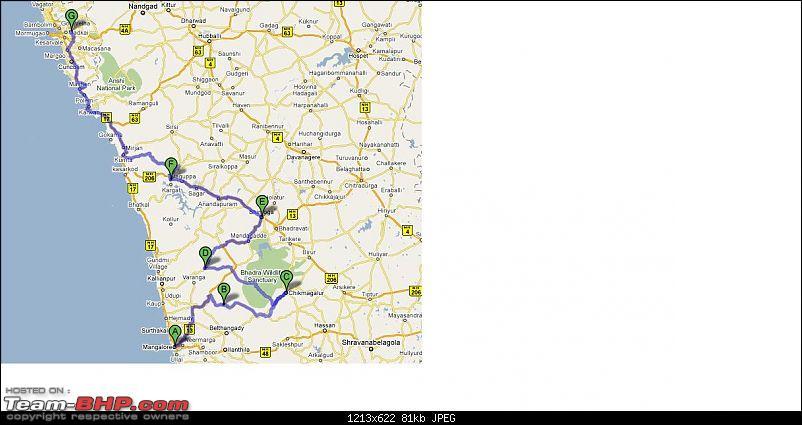 Gypsy Journey planned : Nagpur-Mangalore-Chikmagalur-Goa-Solapur-Nagpur : Need inputs-mangalorekudremukhchikmagaluragumbeshimogajog-fallsgoa.jpg