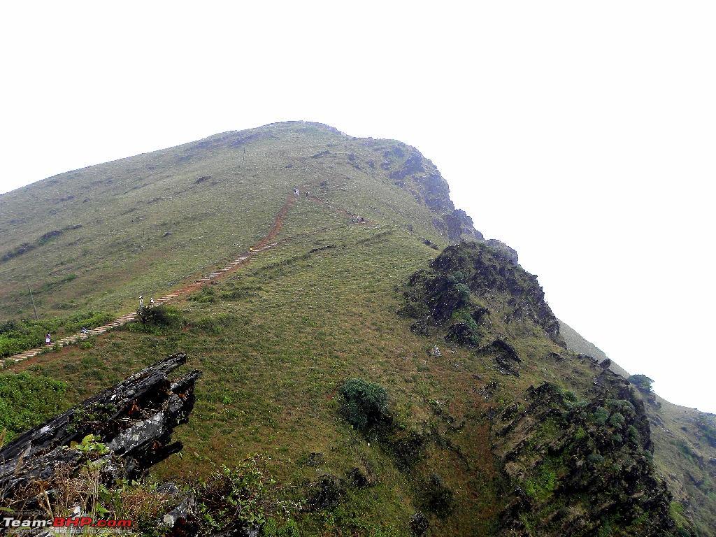 Road Condition Between Chikkamagalur And Mullayanagiri