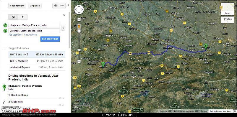 Reaching Bandhavgarh & Around-kjrhvaranasirtmap.jpg