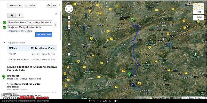 Reaching Bandhavgarh & Around-bhedaghatkjrhrtmap1.jpg