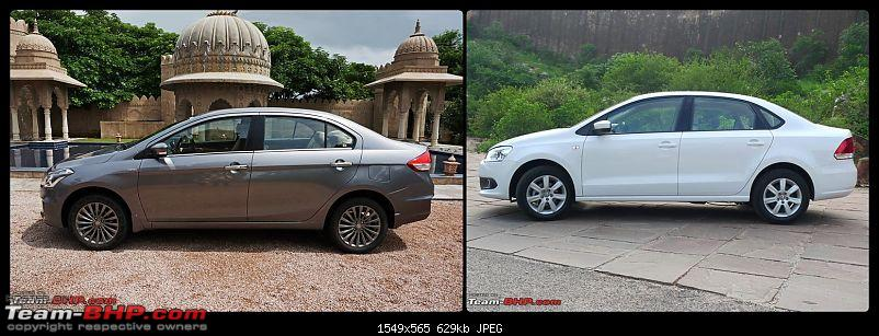 Pictorial Comparison: Maruti Ciaz vs City, Verna, Vento, Rapid, Linea, Fiesta & Manza-side.jpg