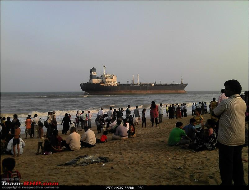 Ship stranded off the coast in Chennai, TN. Now what?-20121102-16.54.03.jpg