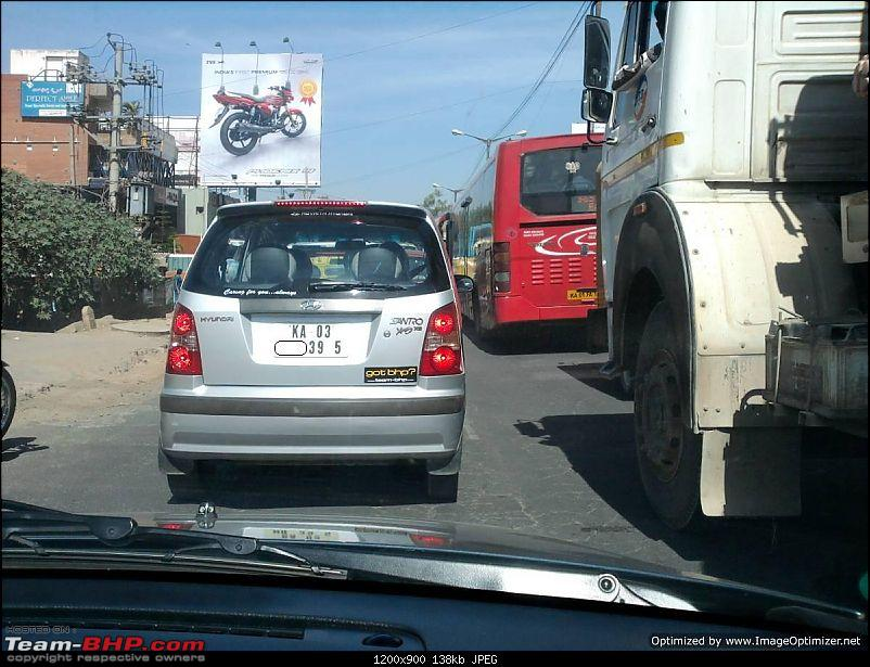 Team-BHP Stickers are here! Post sightings & pics of them on your car-santro_jan1413.jpg