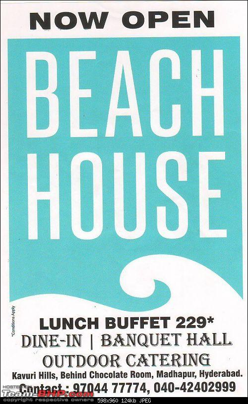 A Guide: Eating out in Hyderabad/Secunderabad/Cyberabad-beach-house.jpg