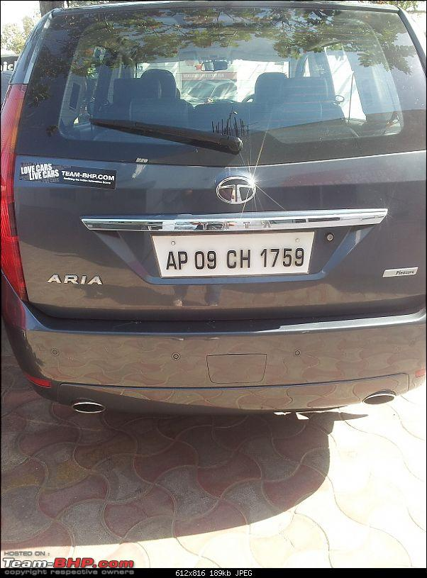 Team-BHP Stickers are here! Post sightings &amp; pics of them on your car-img_20130114_135416.jpg <br />