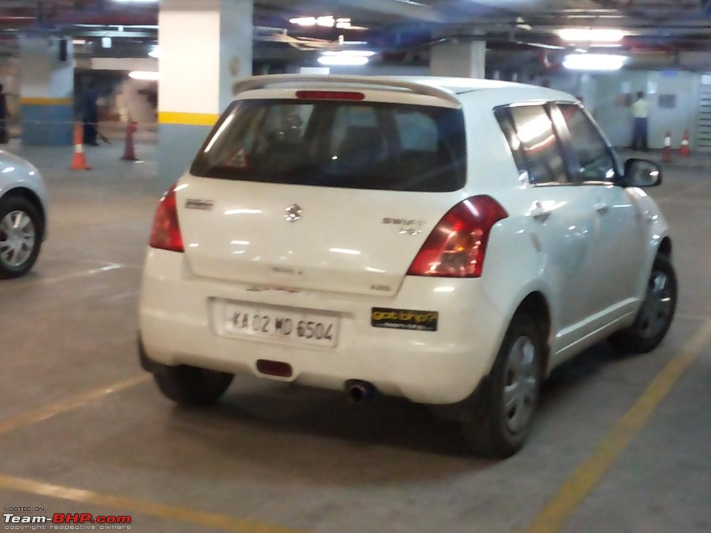 Car sticker design in bangalore - Team Bhp Stickers Are Here Post Sightings Pics Of Them On Your Car
