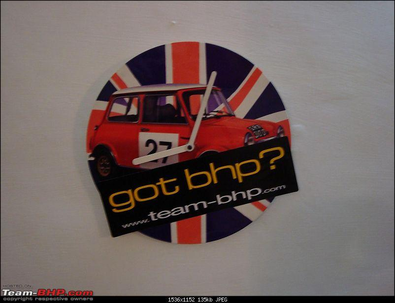Team-BHP STICKERS are HERE! Post sightings & pics of them on your car...-clock.jpg