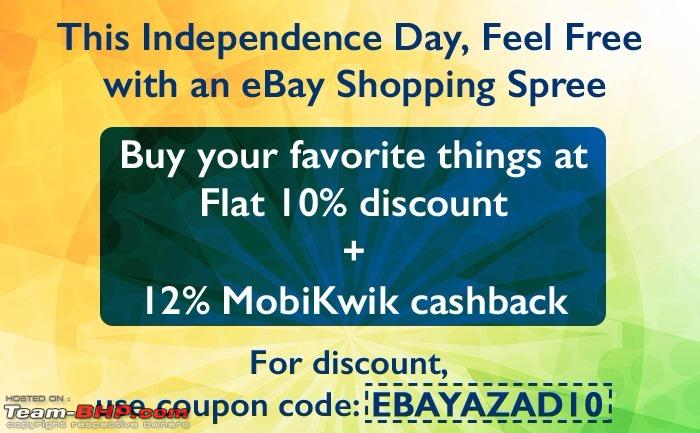 Mobikwik coupons for ebay