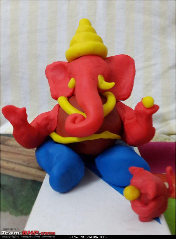 How to make ganesh idol from Clay and celebrate eco-friendly Ganesh festival-20150915_202915.jpg