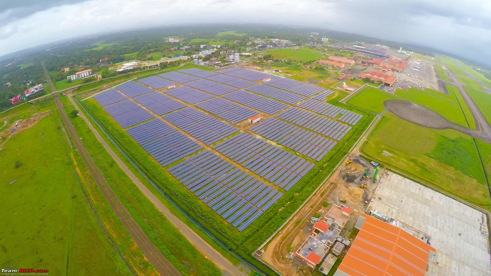 Cochin Airport The World S First 100 Solar Powered