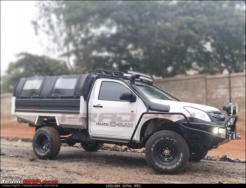 Your Zombie Apocalypse Vehicle!-isuzu-dmax-rear-canopy.jpg