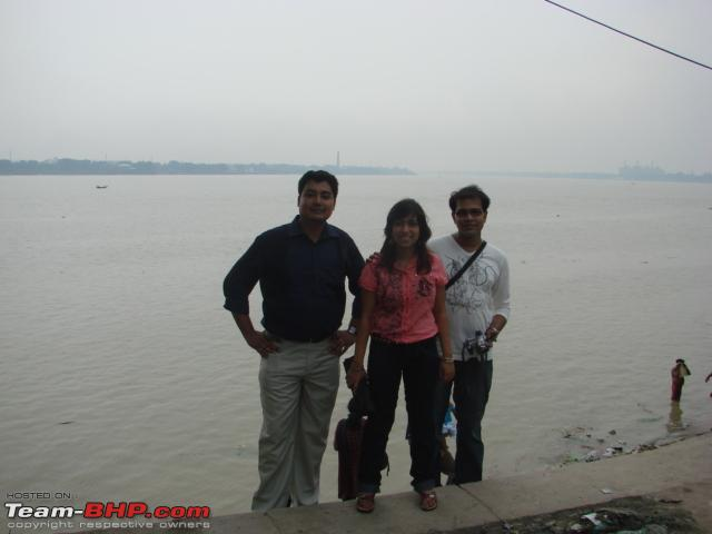 Name:  Friends by the Ganges 2.JPG