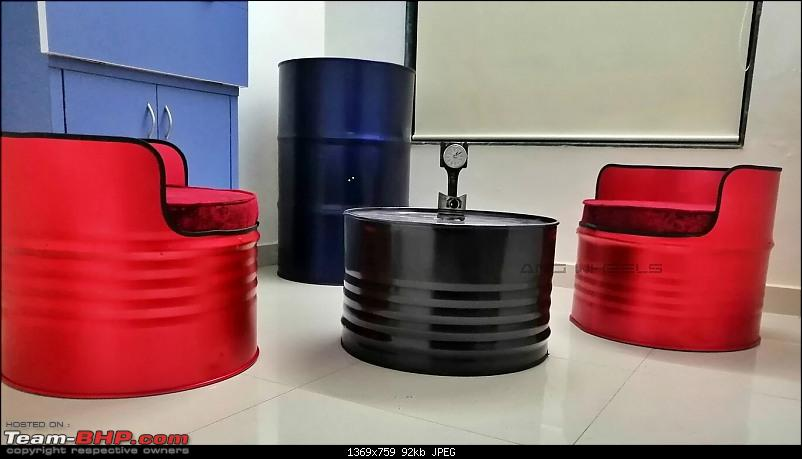ANG Wheels, Mumbai: Furniture & Decor made from automotive parts-ang-oil-lounge.jpg