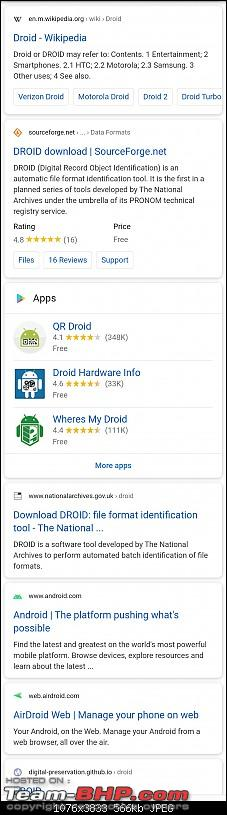 """Google sues me for using the word """"droid"""" in my company name Orpheusdroid-screenshot_20201006134352.jpg"""