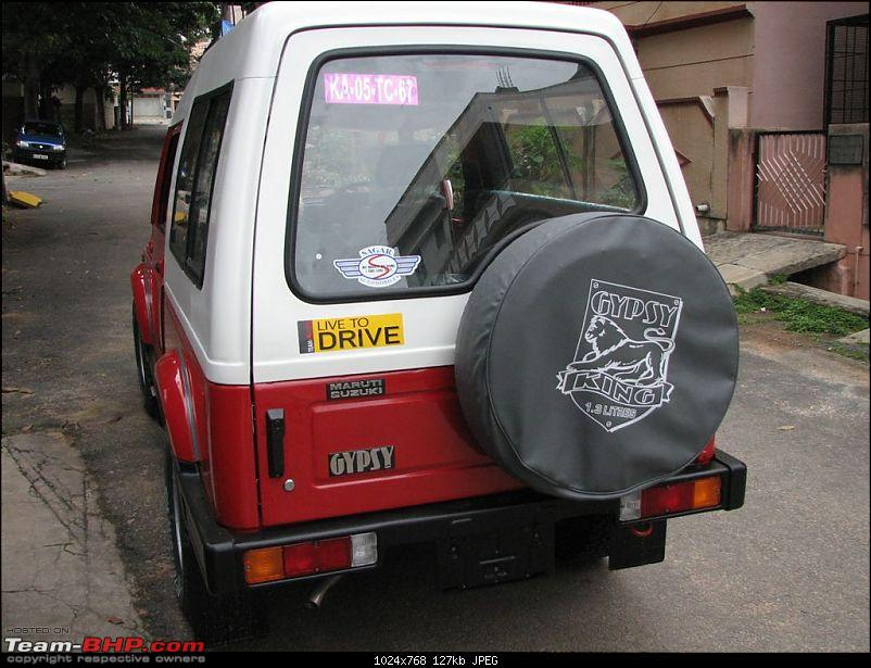Team-BHP Stickers are here! Post sightings & pics of them on your car-maruti_gypsy.jpg