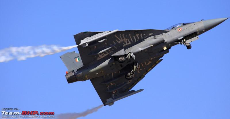Name:  Tejas Taking to the Air..jpg