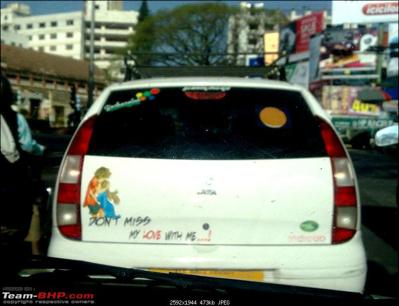 Pics of Weird, Wacky & Funny stickers / badges on cars / bikes-11022011082.jpg