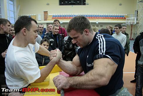 35th National Arm Wrestling Championship-2011  - Team-BHP