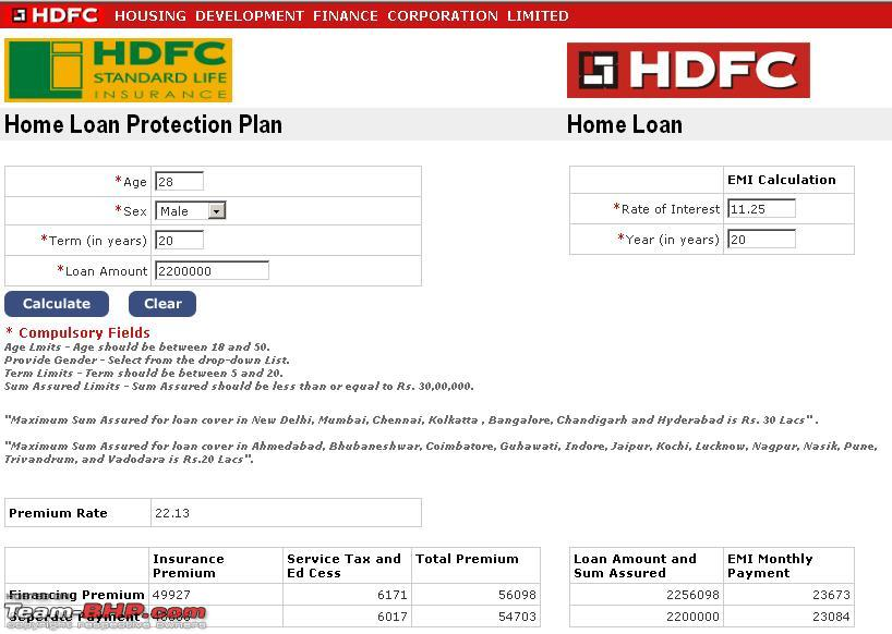 Hdfc Home Loan Insurance Plan House Design Plans