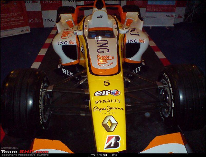 ING Renault F1 car coming to Bangalore-dsc00158.jpg