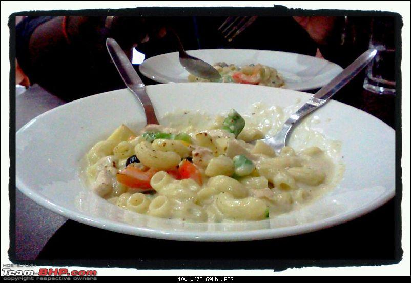 A Guide: Eating out in Hyderabad/Secunderabad/Cyberabad-chicken-cheese-macaroni.jpg