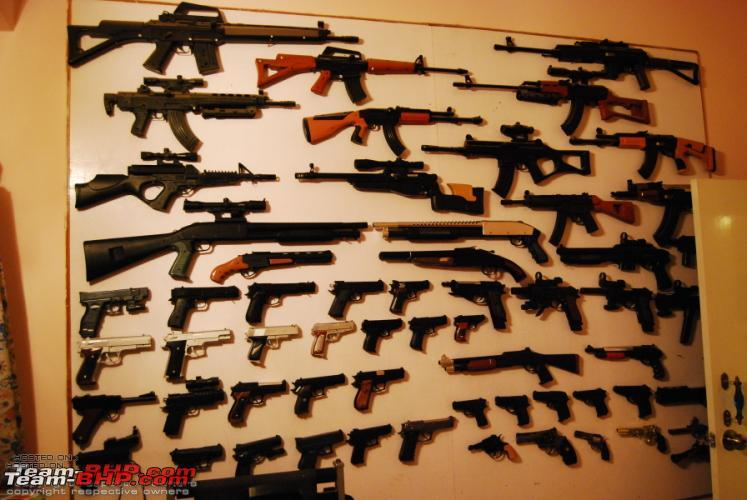 My Replica BB Gun collection