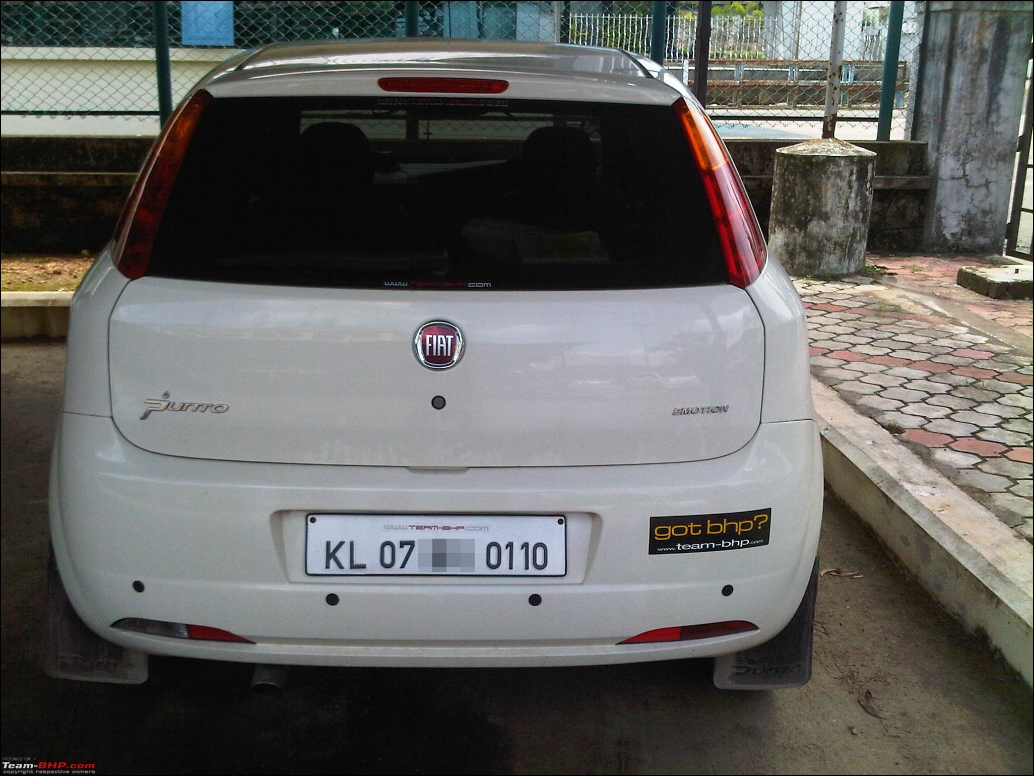 Car sticker design kl - Team Bhp Stickers Are Here Post Sightings Pics Of Them On Your Car