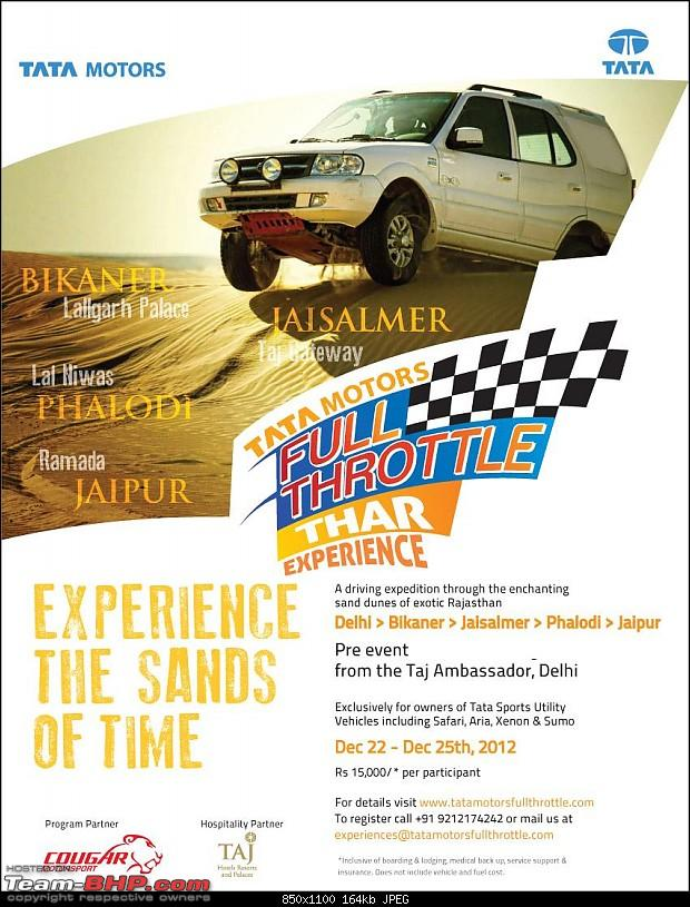For Tata UV Owners : Expedition from Delhi -> Jaipur (22nd to 25th December 2012)-image001.jpg
