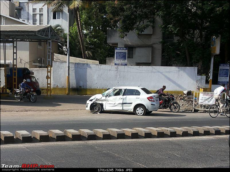 Pics: Accidents in India-dzire.jpg