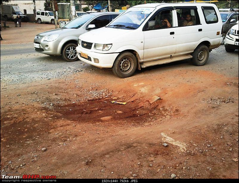The Great Indian Monsoon, 2013: Aftermath in Bangalore-pothole.jpg