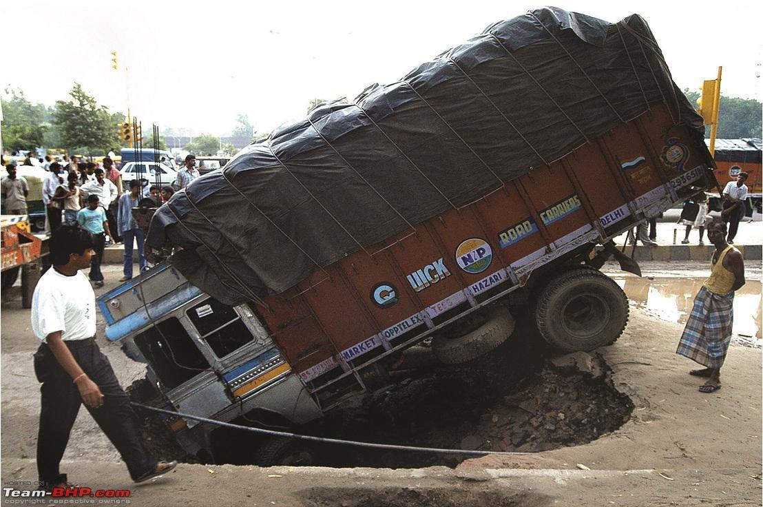 Bad Roads in India